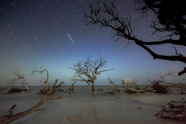 Hunting Island Starry Night