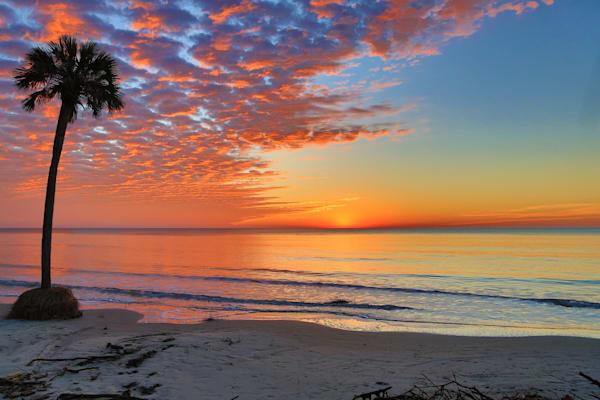 Tangerene Sunrise Photography Art | Phil Heim Photography