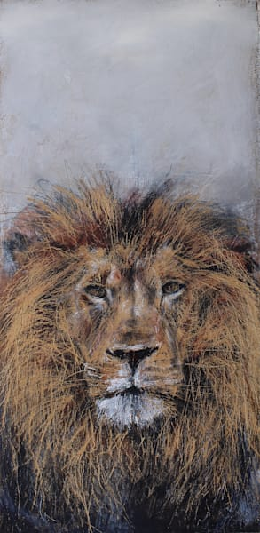 """Aslan A Depiction Of Jesus"" by Scott Patience 