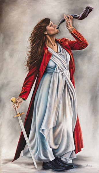 """The Shofar And Sword""by Ilse Kleyn   Prophetics Gallery"
