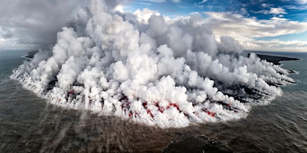 Lava Photography | Land on Fire by Leighton Lum