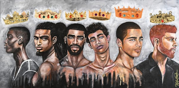 Crowns In Rotation (Sold) Art | thomaselockhart