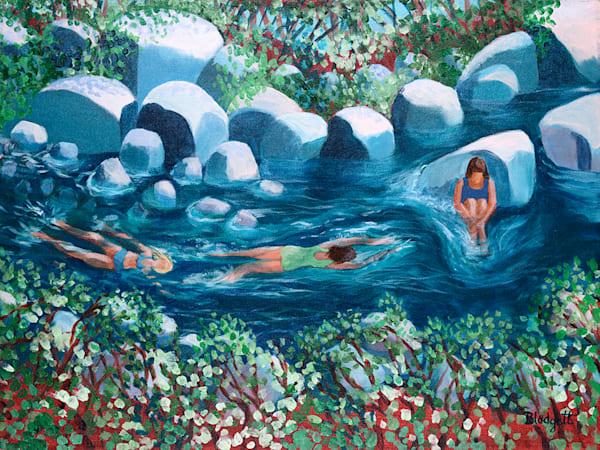 16x20 River Girls  Art | HFA print gallery
