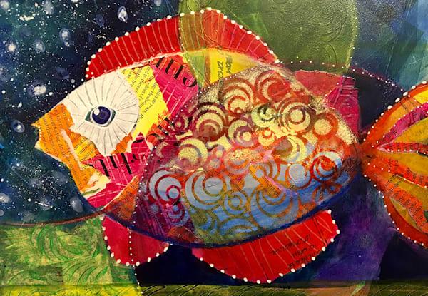 11x14 Wish Fish  Art   HFA print gallery