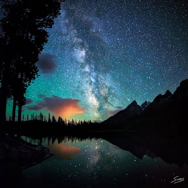 String Lake Milky Way 2016 - Grand Teton National Park