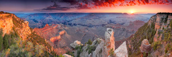 Yaki Sunrise - Grand Canyon National Park, Arizona