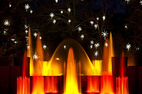 Orange Fountains