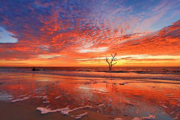 Volcanic Sunrise Photography Art | Phil Heim Photography