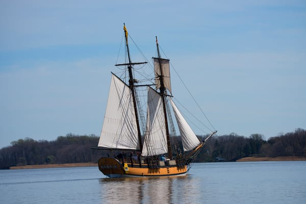 The Sultana Schooner of Chestertown Maryland