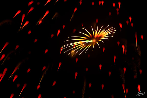 Fireworks - Untitled #124