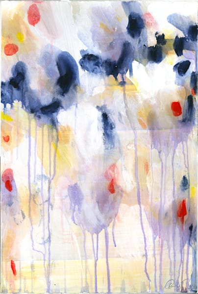 Wildflowers I - Original Painting by Caroline Wright