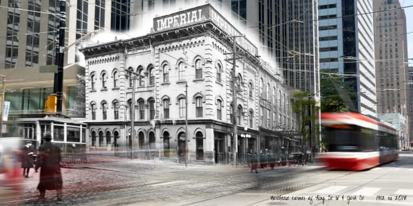 Past Present - Imperial Hotel