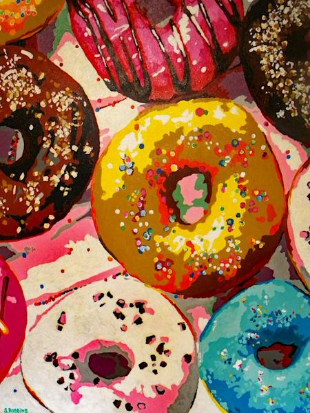 donuts, food,