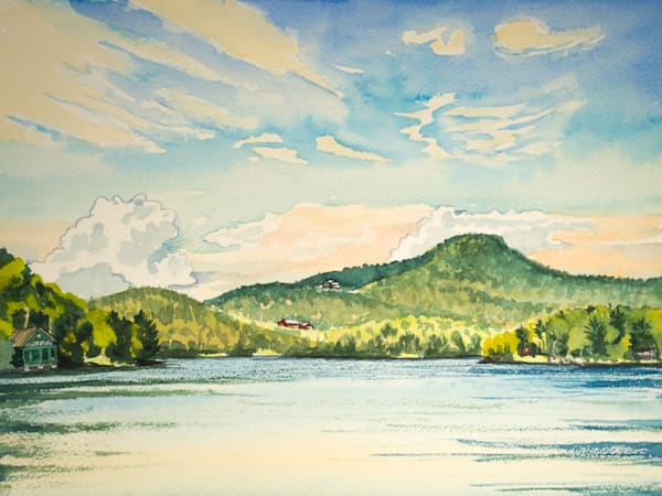 Clearwater Lake, Maine Art for Sale