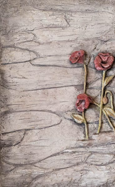 Poppies (Left) Art | Lafille Gallery