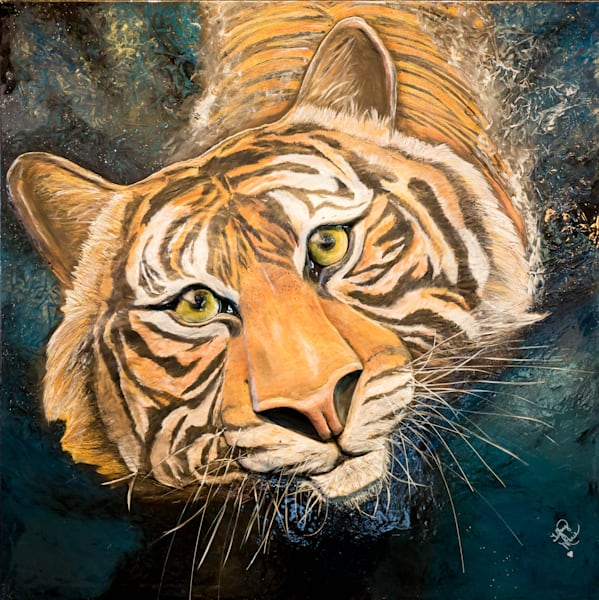 Le Tigre (The Tiger) Art | Lafille Gallery