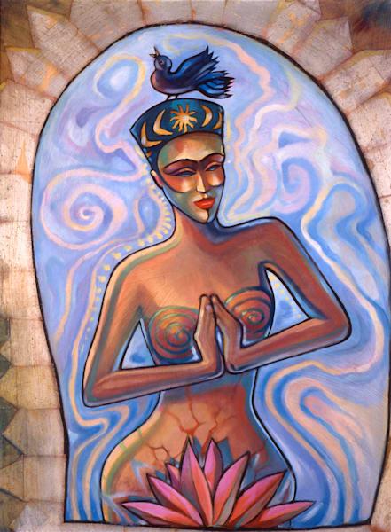Venus Praying Prints Art | Big Vision Art + Design