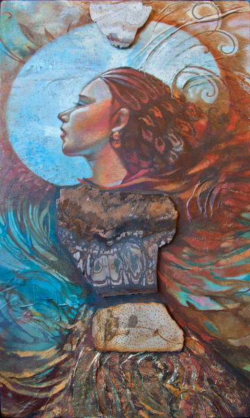 Winged Minstrel Prints Art | Big Vision Art + Design