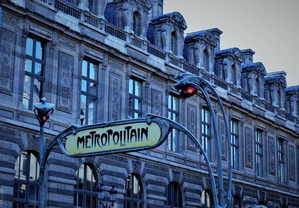Paris Blue Metro