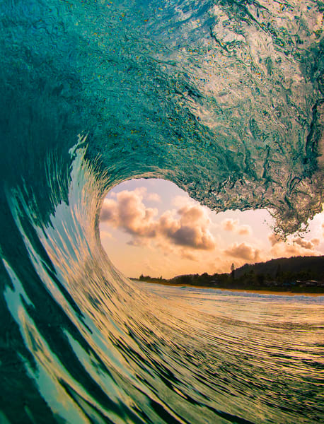 Wave and Surf Photography | Sunrise Pitch by William Weaver