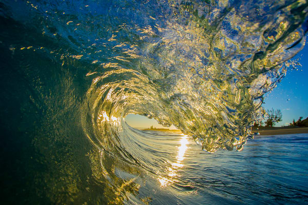 Wave and Surf Photography | Flashlight by William Weaver