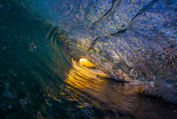 Wave and Surf Photography | Morning Color by William Weaver