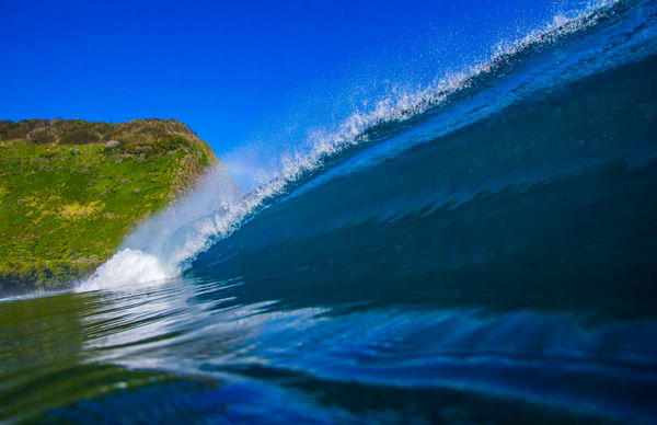 Wave and Surf Photography | Waipio Valley of the Kings by William Weaver