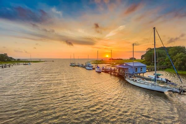 Sunrise Sailboats Photography Art | Phil Heim Photography