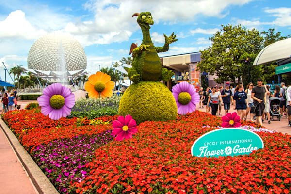 Topiary Figment 1 - Epcot F&G Gallery | William Drew