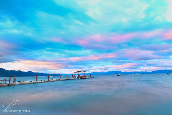 Lavender Sunrise at Lake Tahoe