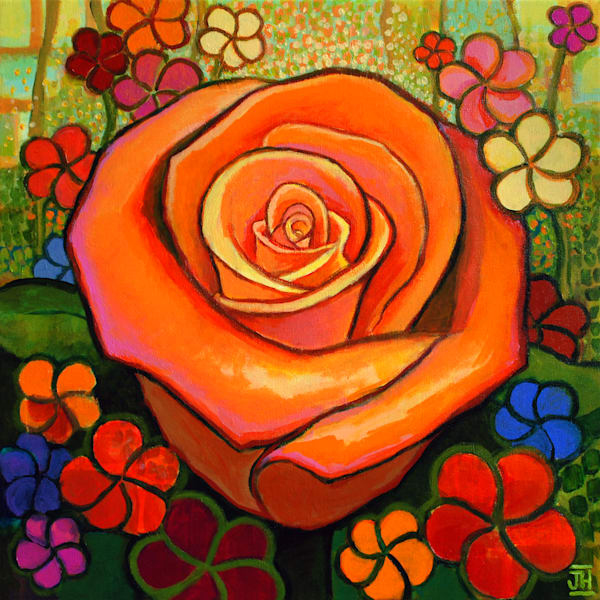 In Full Bloom, by Jenny Hahn