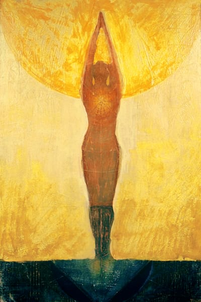 Sun Salutation, by Jenny Hahn