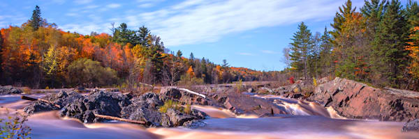Autumn Flow 2 - Fine Art Landscape Prints | William Drew