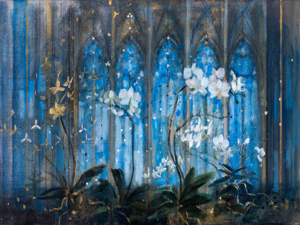 January Orchids Art | Freiman Stoltzfus Gallery