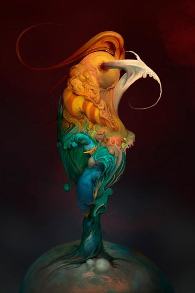 Asf Cock 2 3 Ratio Art | Burton Gray