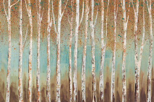 Birch Trees by Willowbrook Fine Art Wrapped Canvas Art Print