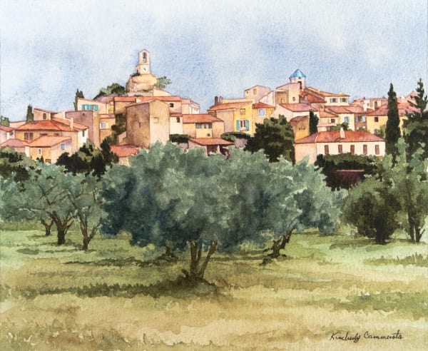 Paintings of Provence for Sale | Kimberly Cammerata
