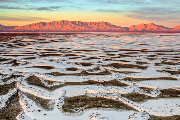 White Sands Mountains II | Mountain Landscape Photography Print