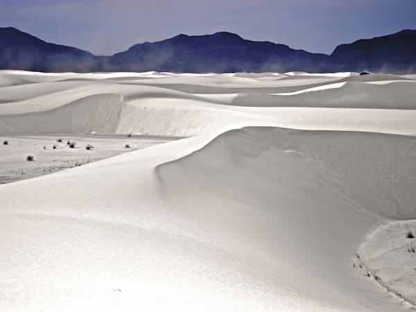 White Sands Dust Storm | Desert Landscape Photography Print