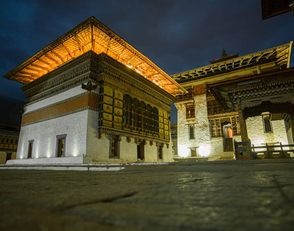 Bhutan Glow | Architecture Photography Print