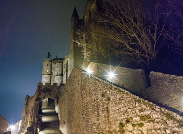 Mont St. Michel Steps To Redemption | Travel Photography Print