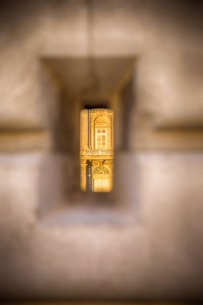 Through The Keyhole | Architecture Photography Print