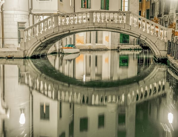 Venice in White | Urban Art Photography Print