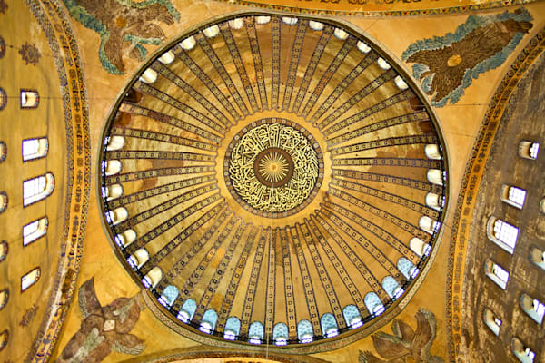 Istanbul Mosque Dome III | Travel Art Photography Print