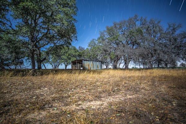 Fredericksburg Ranch Under A Full Moon | Full Moon Photography Print