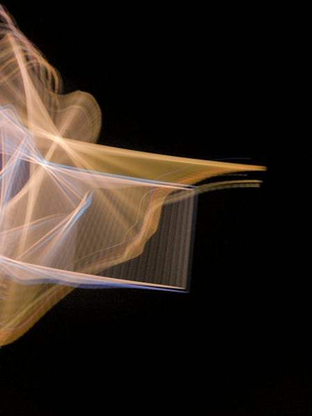 Camera Toss Gold And Blue | Online Art Photography Store