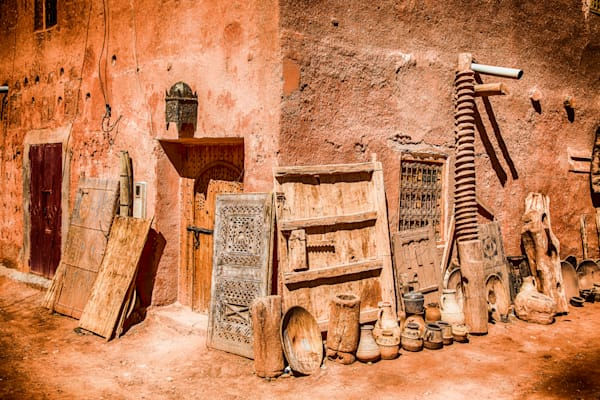 Ait Ben Haddou Corner | Travel Photography Print