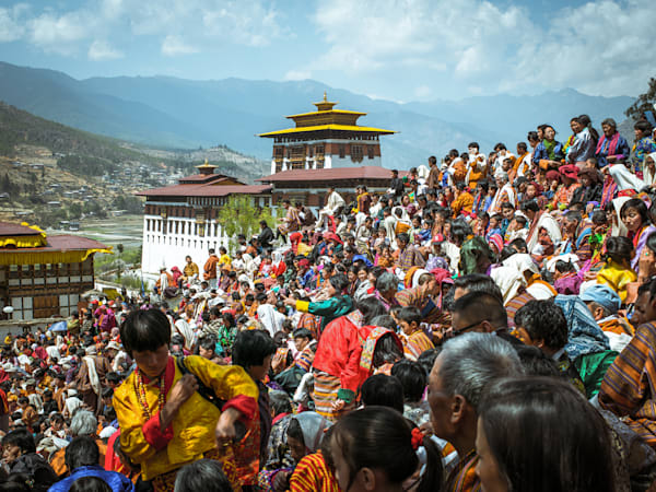 Paro Festival | Travel Art Photography Print