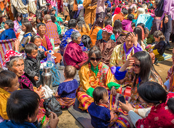 Paro Festival IV | Travel Art Photography Print