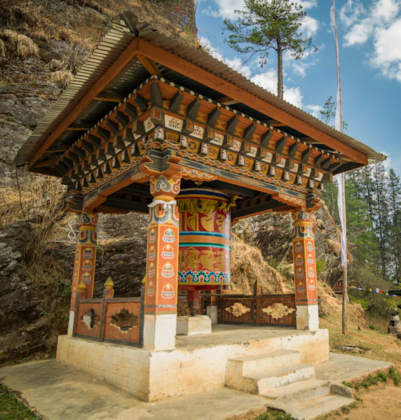 Dzong Bhutanese Detail | Travel Photography Print